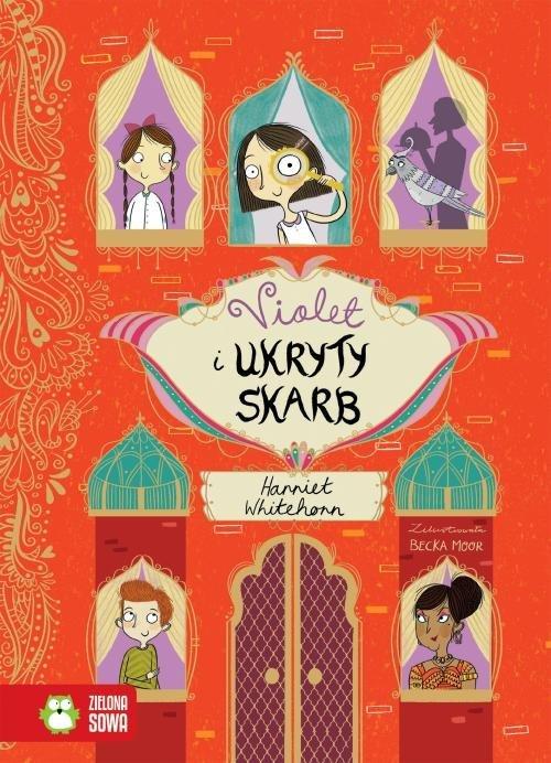 Violet i ukryty skarb - okładka książki
