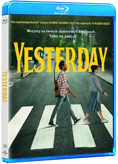 Yesterday (Blu-ray) - okładka filmu