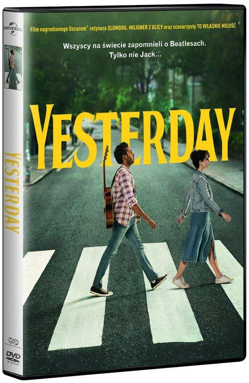 Yesterday (DVD) - okładka filmu