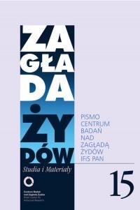 Zagłada Żydów. Studia i Materiały - okładka książki