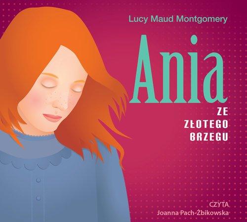 Ania ze Złotego Brzegu (CD mp3) - pudełko audiobooku