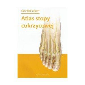Atlas stopy cukrzycowej - okładka książki