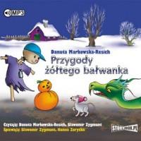 Przygody żółtego bałwanka (CD mp3) - pudełko audiobooku