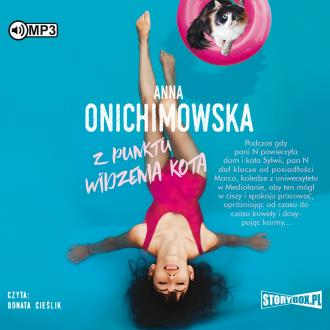 Z punktu widzenia kota (CD mp3) - pudełko audiobooku