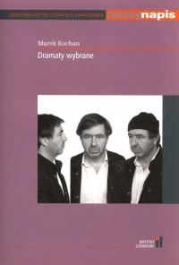 Dramaty wybrane - okładka książki