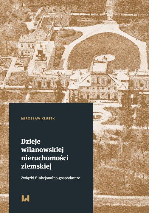 Dzieje wilanowskiej nieruchomości - okładka książki