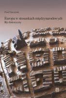 Europa w stosunkach międzynarodowych. - okładka książki