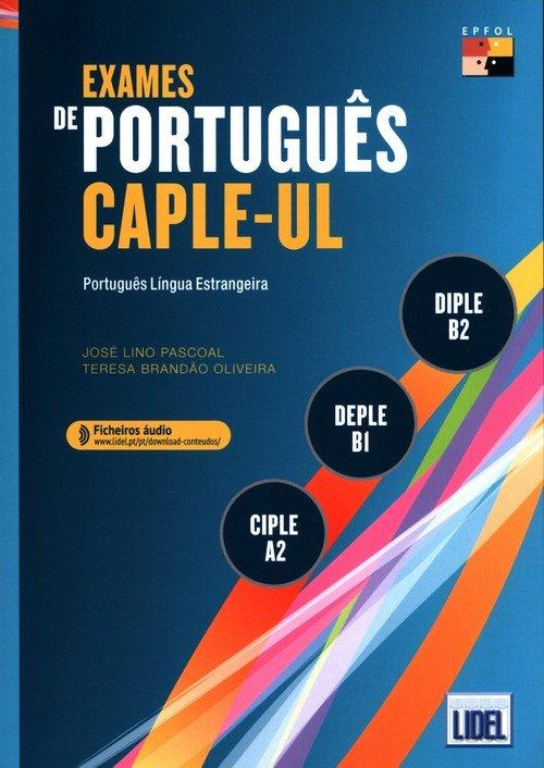 Exames de Portugues CAPLE-UL - - okładka podręcznika
