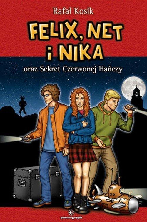 Felix, Net i Nika oraz Sekret Czerwonej - okładka książki