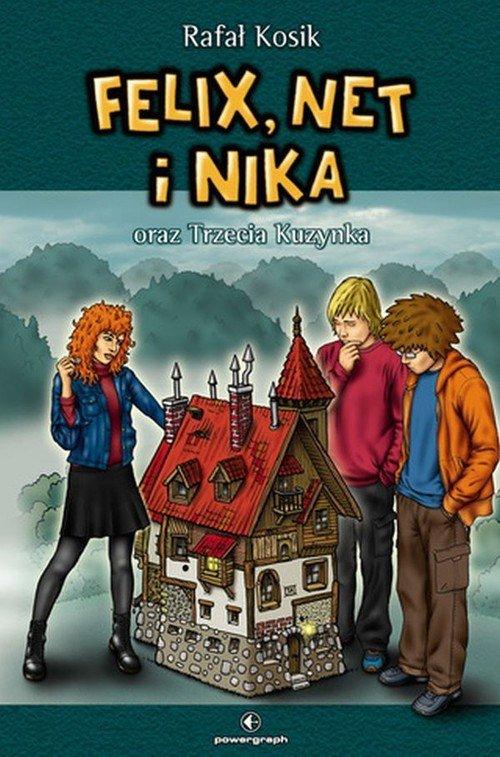 Felix, Net i Nika oraz Trzecia - okładka książki