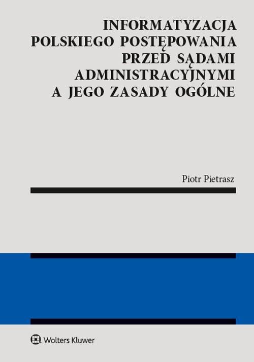 Informatyzacja polskiego postępowania - okładka książki