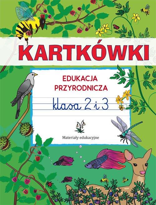Kartkówki. Edukacja przyrodnicza. - okładka podręcznika