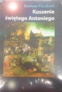 Kuszenie świętego Antoniego - okładka książki