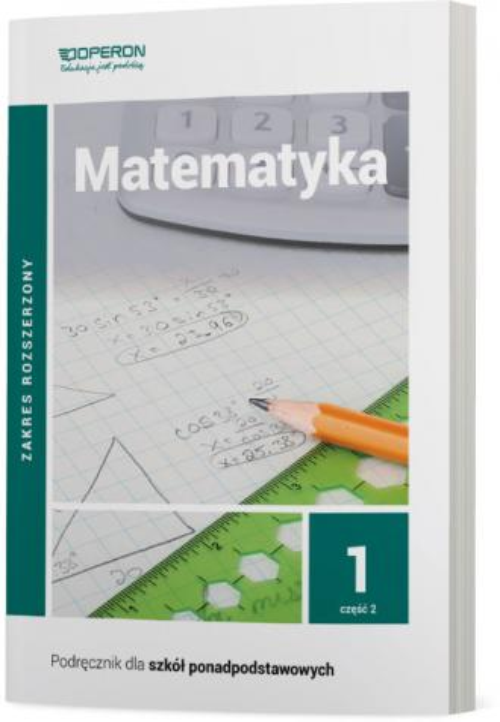 Matematyka. Liceum. Klasa 1/2. - okładka podręcznika
