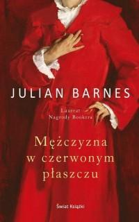 Mężczyzna w czerwonym płaszczu - okładka książki