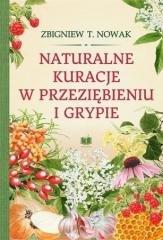 Naturalne kuracje w przeziębieniu - okładka książki