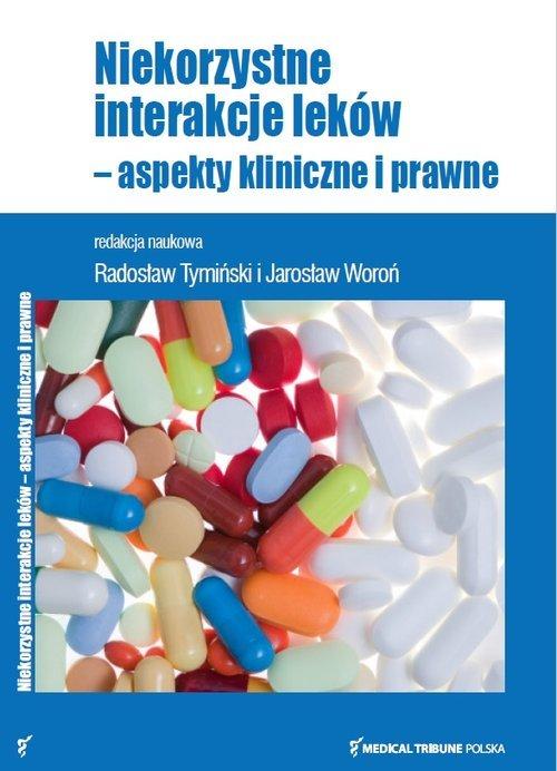 Niekorzystne interakcje leków - - okładka książki