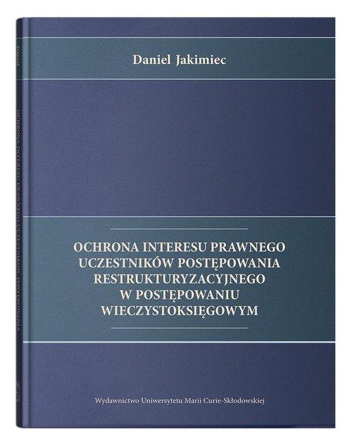 Ochrona interesu prawnego uczestników - okładka książki