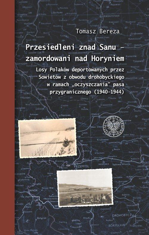 Przesiedleni znad Sanu - zamordowani - okładka książki