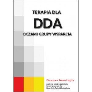 Terapia dla DDA oczami grupy wsparcia - okładka książki