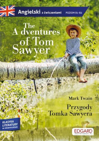 The Adventures of Tom Sawyer/Przygody - okładka podręcznika