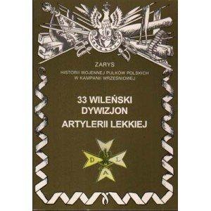 33 Wileński Dywizjon Artylerii - okładka książki