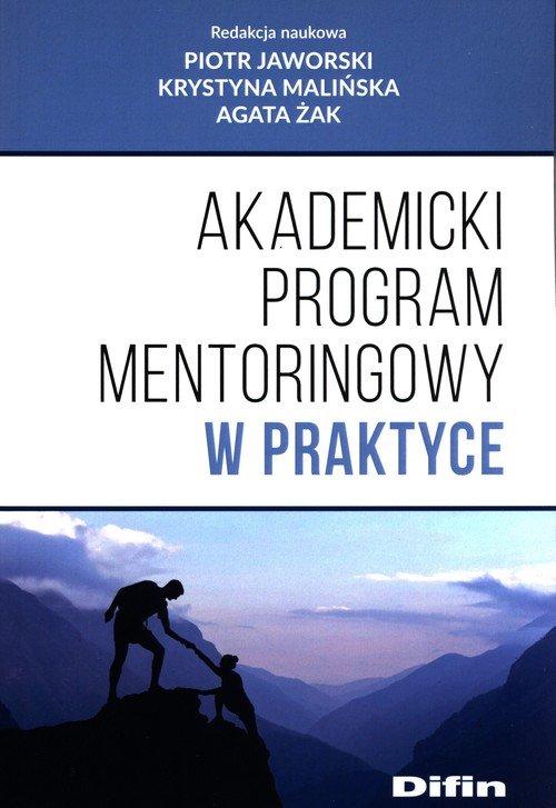 Akademicki program mentoringowy - okładka książki