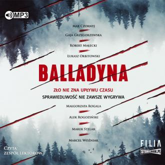 Balladyna (CD mp3) - pudełko audiobooku
