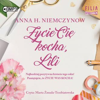 Życie cię kocha lili (CD mp3) - pudełko audiobooku