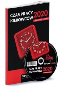 Czas pracy kierowców 2020 - najnowsze - okładka książki