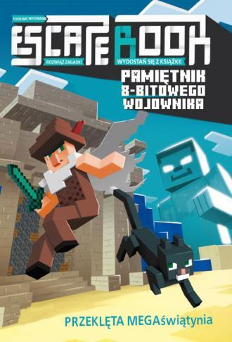 Escape book Przeklęta MEGAświątynia. - okładka książki
