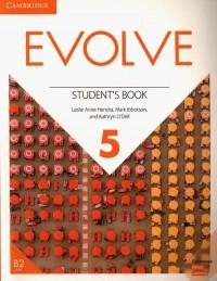 Evolve Level 5 Students Book - okładka podręcznika
