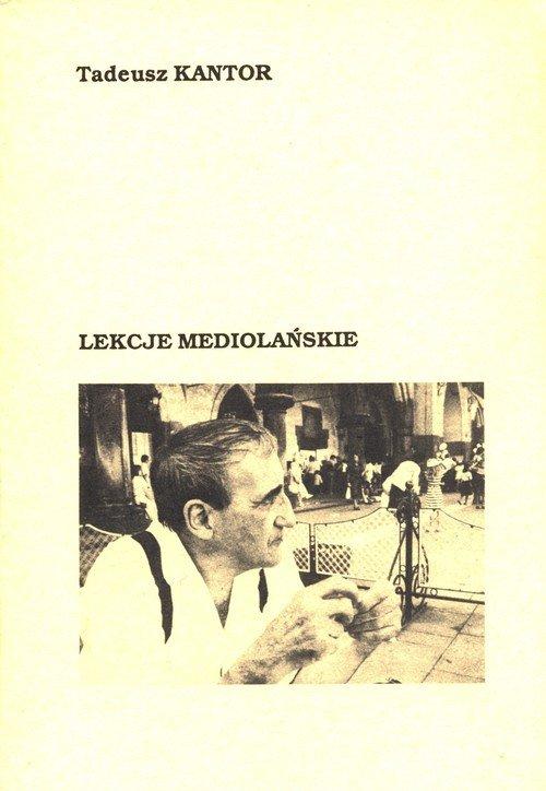 Lekcje mediolańskie - okładka książki