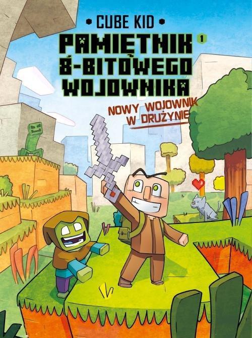 Minecraft Pamiętnik nooba wojownika. - okładka książki