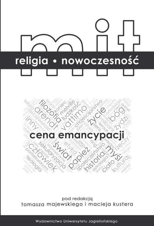 Mit - religia - nowoczesność Cena - okładka książki