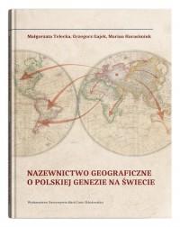 Nazewnictwo geograficzne o polskiej - okładka książki