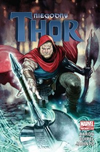 Niegodny Thor - okładka książki