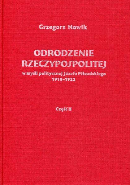 Odrodzenie Rzeczypospolitej w myśli - okładka książki