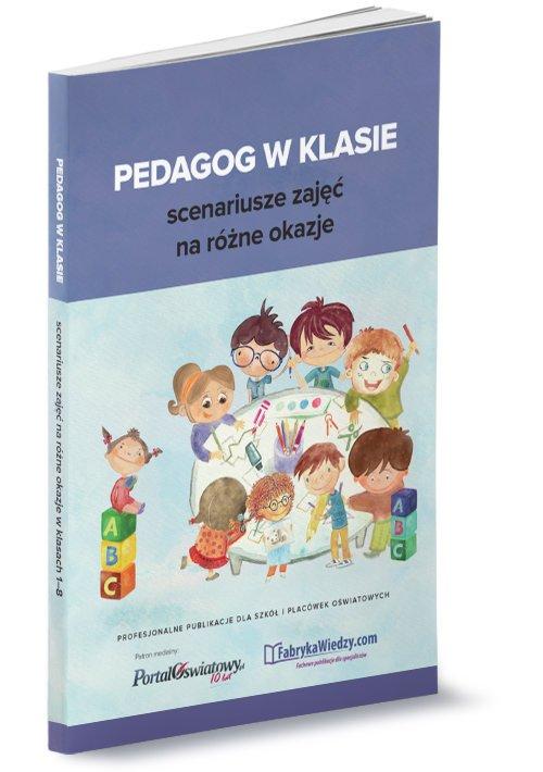 Pedagog w klasie - scenariusze - okładka książki