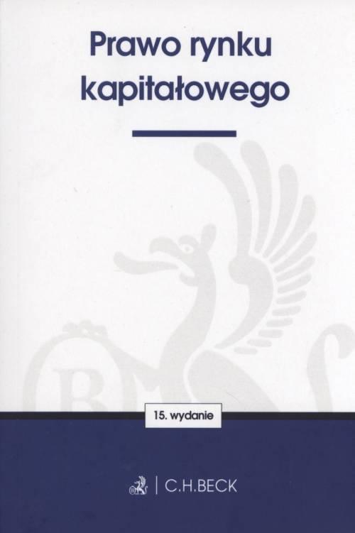 Prawo rynku kapitałowego - okładka książki