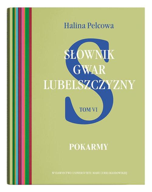 Słownik gwar Lubelszczyzny Tom - okładka książki