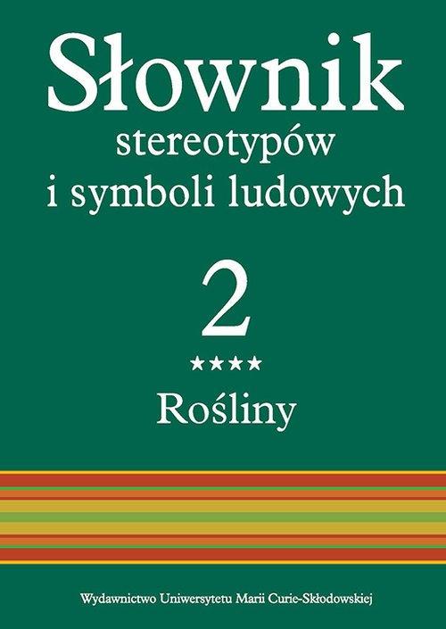 Słownik stereotypów i symboli ludowych. - okładka książki