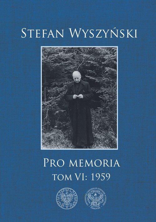 Stefan Wyszyński, Pro memoria, - okładka książki