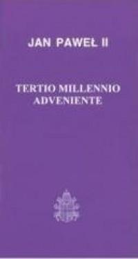 Tertio millennio adveniente - okładka książki