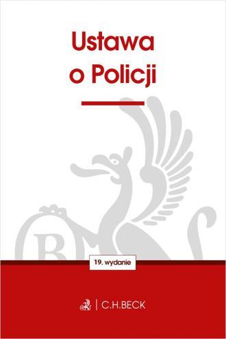 Ustawa o Policji - okładka książki