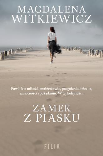 Zamek z piasku - okładka książki