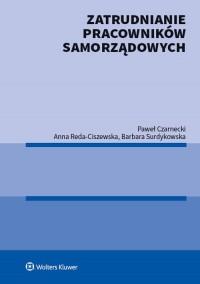 Zatrudnianie pracowników samorządowych - okładka książki