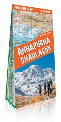 Annapurna i Dhaulagiri laminowana - okładka książki
