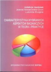 Charakterystyka wybranych aspektów - okładka książki