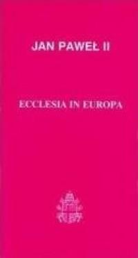 Ecclesia in Europa - okładka książki